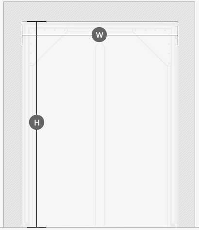 PVC Crash Door Sizes